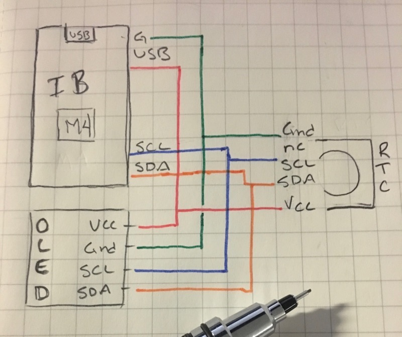 IBM4 Clock Schematic
